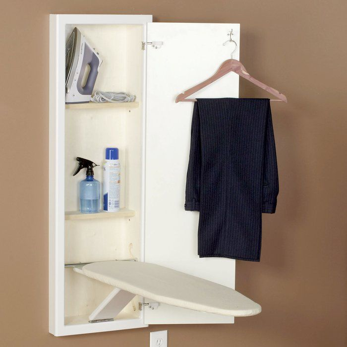 Stowaway In-Wall Built-in Ironing Board
