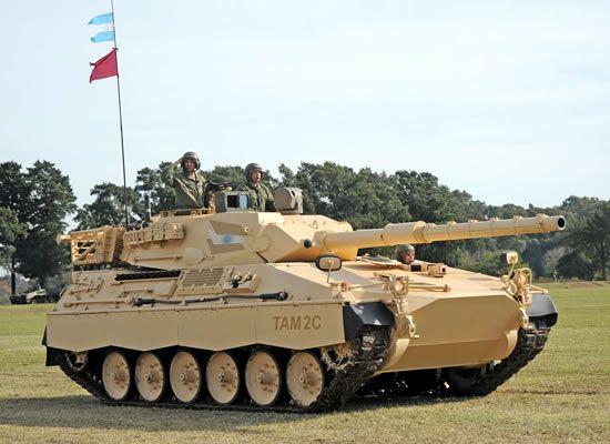 Historia del Tanque Argentino Mediano