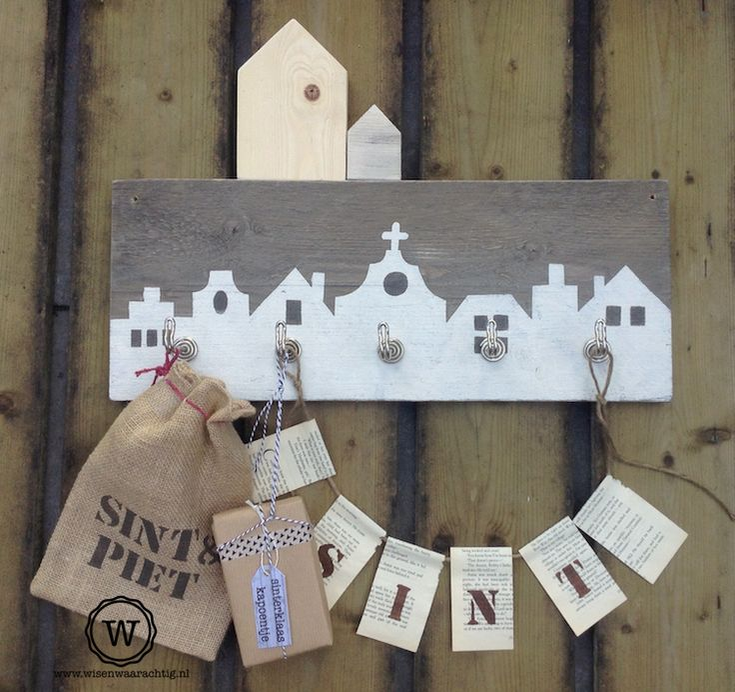 Sinterklaasdecoratie in huis. #blog
