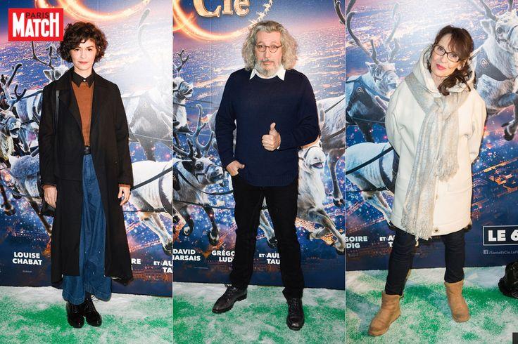 De nombreuses célébrités françaises se sont réunies dimanche soir à Paris pour assister à l'avant-première du dernier film d'Alain Chabat, «Santa & Ci...