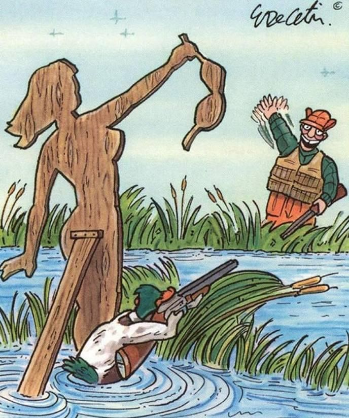 Ces illustrations originales inversent les rôles : c'est au tour des animaux de martyriser les hommes !