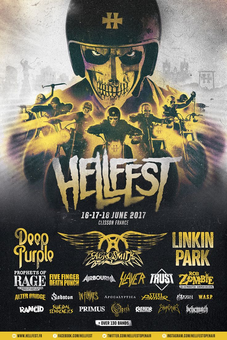 Hellfest 2017 – Extreme Music for Extreme People « Lavisqteam