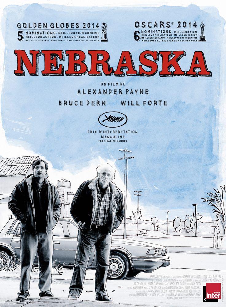Un vieil homme, persuadé qu'il a gagné le gros lot à un improbable tirage au sort par correspondance, cherche à rejoindre le Nebraska pour y recevoir son gain, à pied puisqu'il ne peut plus conduire. Un de ses deux fils se décide finalement à emmener...