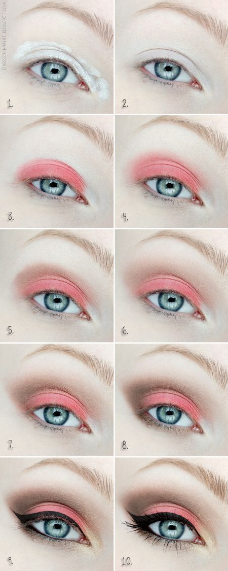 Adour this eye makeup tutorial! Head over to Pampadour.com for beauty product suggestions to recreate this look!