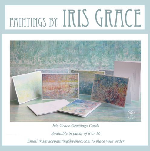 Paintings & Prints   Iris Grace  AMAZING impressionist paintings done by a 5 year old girl with autism. Absolutely beautiful!