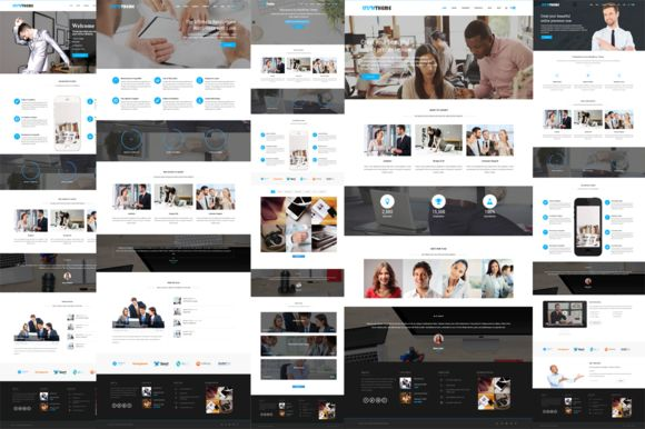 Ivy Business WordPress Theme by Adon Creatives on Creative Market