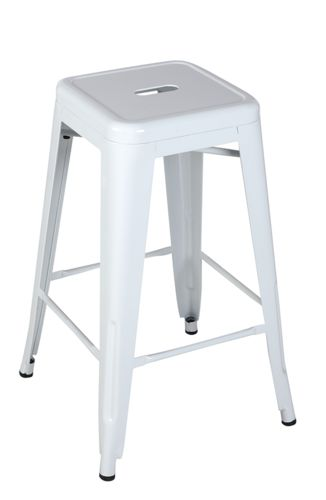 Buy Replica Tolix Stool 66cm White Online at Factory Direct Prices w/FAST, Insured, Australia-Wide Shipping. Visit our Website or Phone 08-9477-3441
