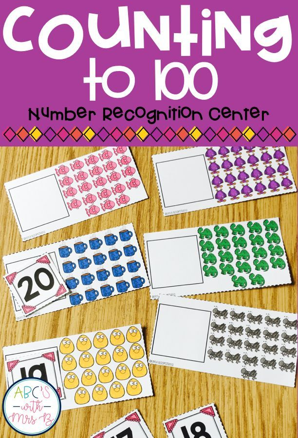 Students will practice counting items to 30 and practice number recognition by placing the correct number on the matching card. This is part of a counting to 100 product. Students can use during math centers or small math groups.