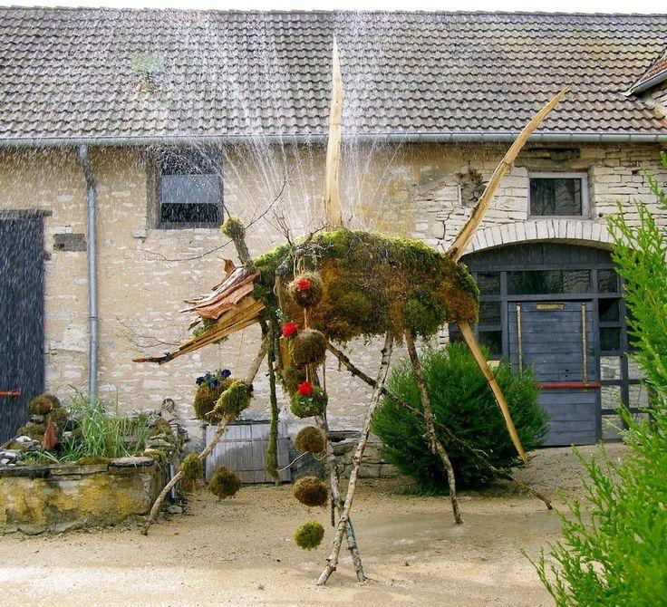 12 best landart . sculpture . mousse . nature . alain bresson ...