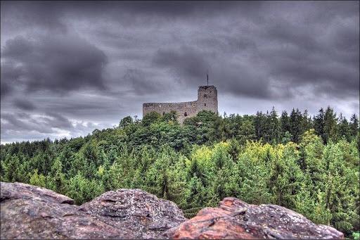 Hrad Radyne! Stary Plzenec, Czech Republic. Built ca. 1358
