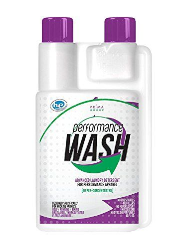 Price:    Performance wash deep cleans your performance clothing and more! Removes dirt, grime and sweat. Rejuvenates fabrics burdened with dyes, perfumes and detergent additives, to bring back the fabric's intended function. Perfect for synthetic fabrics, yet remarkable for cotton as...