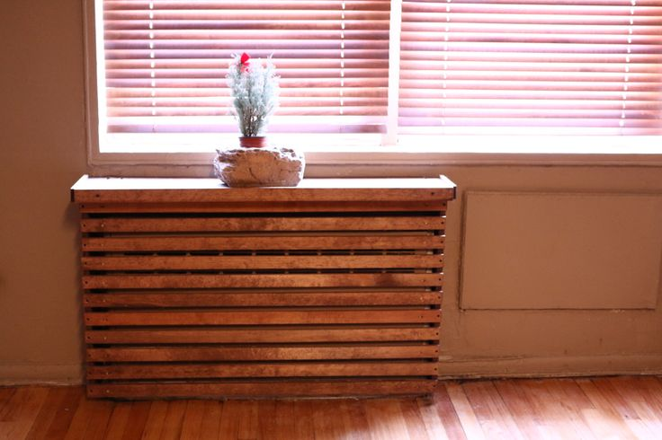 Wood Custom Handmade Radiator Cover by WoodWarmth on Etsy https://www.etsy.com/listing/184845424/wood-custom-handmade-radiator-cover