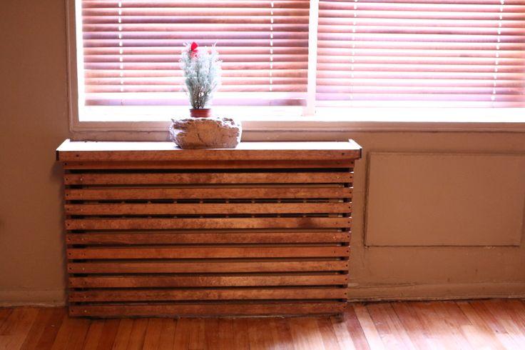 Wood Custom Handmade Radiator Cover by WoodWarmth on Etsy https://www.etsy.com/listing/184845424/wood-custom-handmade-radiator-cover
