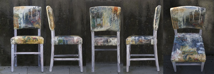 http://www.JasonAthen.com  Chair I painted!  This is a picture from all angles.