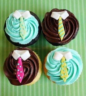 Guloseimas    Sugestões legais e algumas até bem fáceis para o Dia dos Pais .    Cupcakes , cake pops , bolachas decoradas , balas , sal...