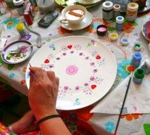 Servies schilderen