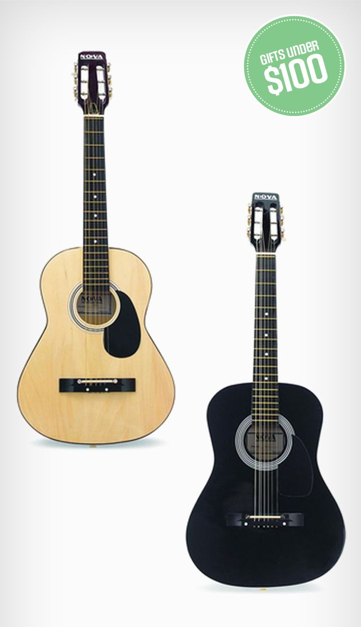 For the music lover: the NOVA 36' Student Guitar is a great holiday gift for the beginner. Next thing you know, they'll be playing at the next holiday party!