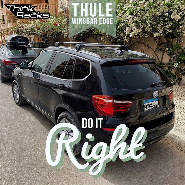 The Roof Racks Are The Base Of All Loads On Top Of The Car Thule Think Racks Travelegypt Bmwegypt Yourhomeonthego F Roof Racks Car Roof Box
