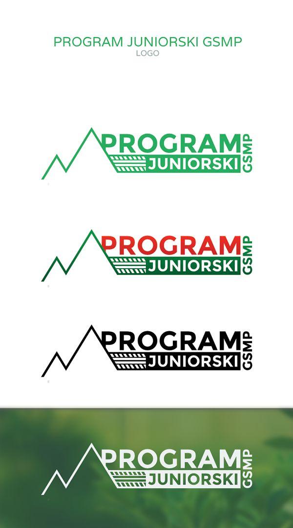 Projekt loga dla Programu Juniorskiego GSMP
