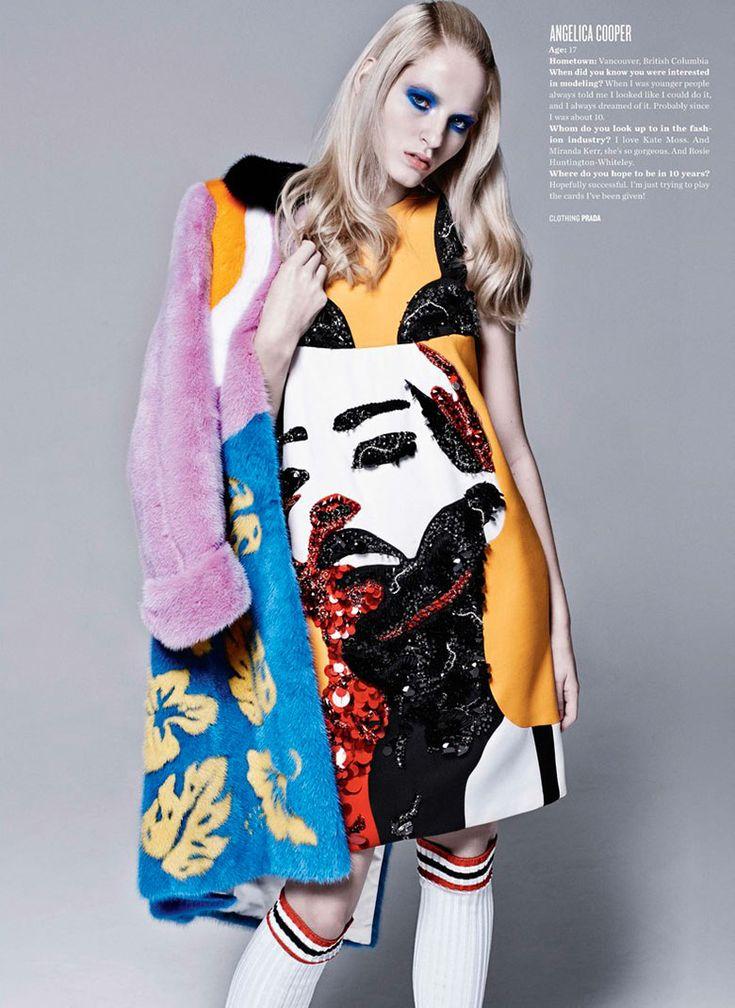 New Season, New Girls, New Looks' by Kacper Kasprzyk for V Spring 2014