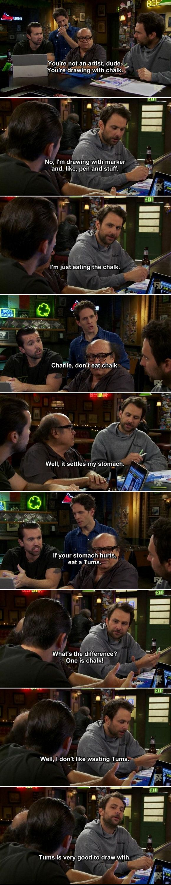 When Charlie experienced the sort of struggle every artist has.