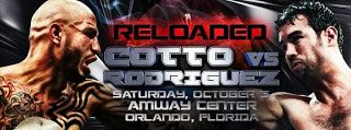 ★Starlite★ Boxing's Sweetscience©®™: RELOADED: Miguel Cotto VS. Delvin Rodriguez, October 5, 2013 at the Amway Center in Orlando, Florida
