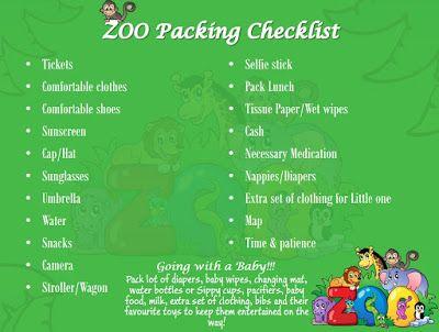 Walk The Mind!: Going to the zoo with your toddler? – Planning is ...