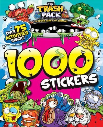 TRASH PACK 1000 STICKERS by Parragon Books. $6.99. Publication: February 15, 2013. Publisher: Parragon Books (February 15, 2013)
