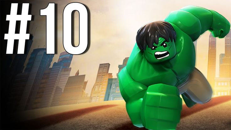 Lego Marvel Superheroes Walkthrough Part 10 Let's Play Gameplay Playthro...