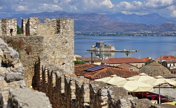 Walk in Nafplion and enjoy the view
