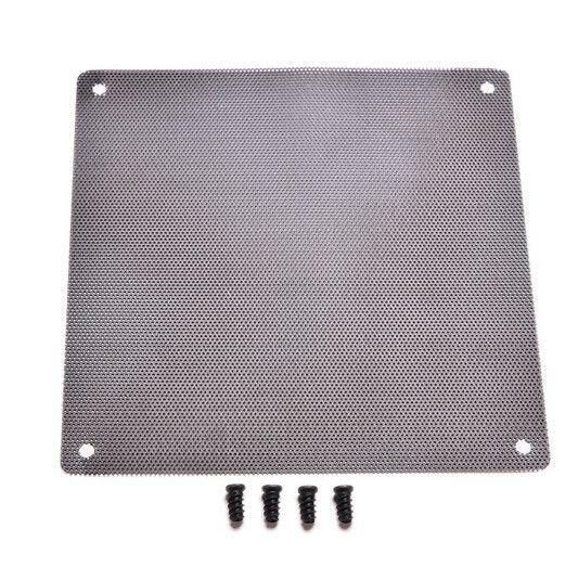 120x120mm Computer PC Dustproof Cooler Fan Case Cover Dust Filter Cuttable Mesh Fits Standard 120mm Fans + 4 Screws 1PC