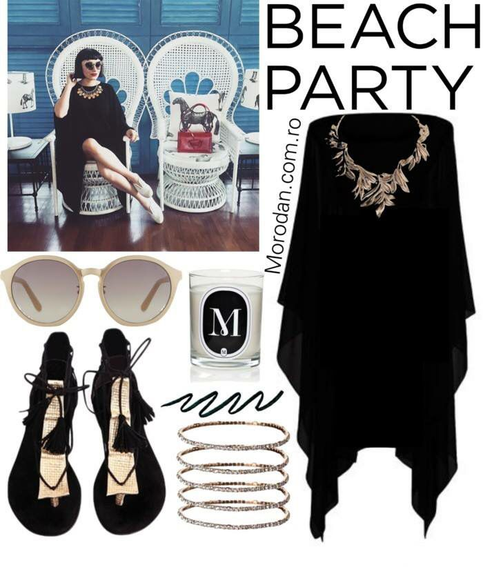Party by the sea next weekend? Ana`s Obsession especially during Summers, our #MorodanShop black caftan will make you stand out.  Shop: Kaftan:  http://www.morodan.com.ro/clothing/rochie-neagra-ro-2/ Bracelet: http://www.morodan.com.ro/accessories/bratara-porte-bonheur/ Candle:  http://www.morodan.com.ro/morodan-home/m-scented-candle-personalized-letters-vanilla-ro/