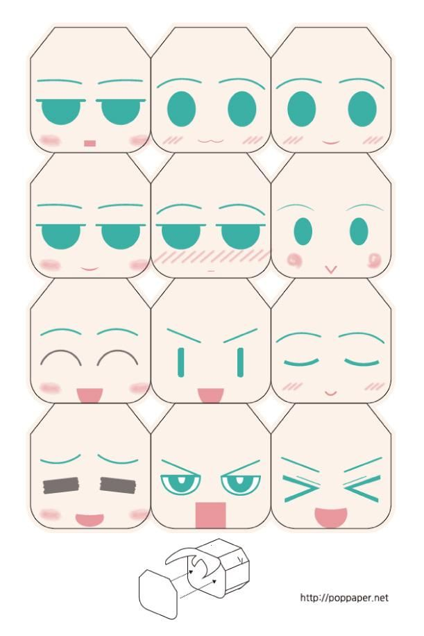 Blog_Paper_Toy_papertoy_Hatsune_Miku_faces_preview
