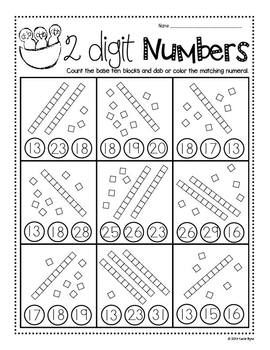 PRINT AND GO! SPRING GARDEN MATH AND LITERACY - Save your ink and time! Cute sheets that review lots of skills perfect for spring and garden themes! $