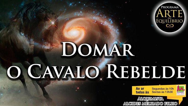 Arte do Equilíbrio - Domar o Cavalo Rebelde - Alcides Melhado Filho -  2...
