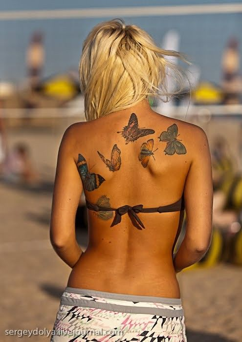 Sweet tattoos :)