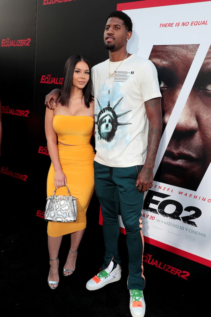 Daniela Rajic And Paul George Attend The Los Angeles