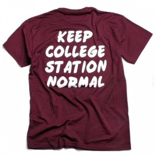 Aggieland Outfitters. keep college station normal