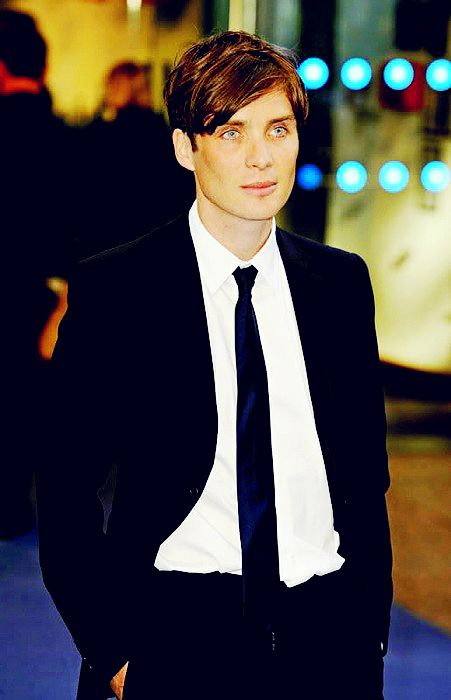 Cillian Murphy - he is so damn pretty.  Apparently he proposed to his wife while walking in the hills in Ireland.. sigh