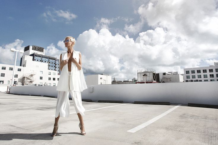 Photoshoot in Miami... by Michal Petrík #photoshoot #woman #fashion #style #miami #usa #pose