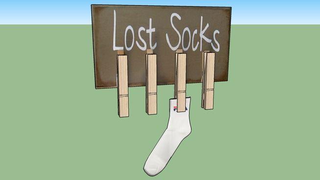 Quadro Lost Socks - 3D Warehouse