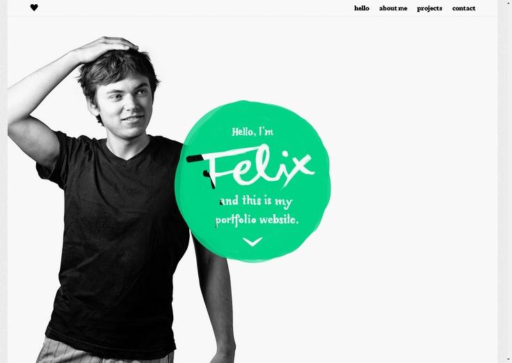 Hello Im Felix And This Is My Portfolio Website