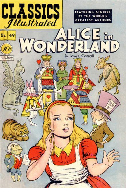 <b>alice in wonderland</b> great illustrated classics