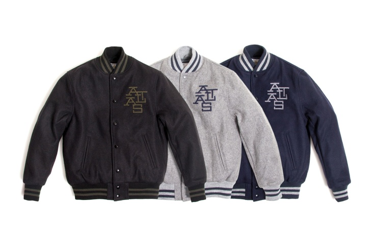 Image of Atlas x Golden Bear Varsity Jacket Collection