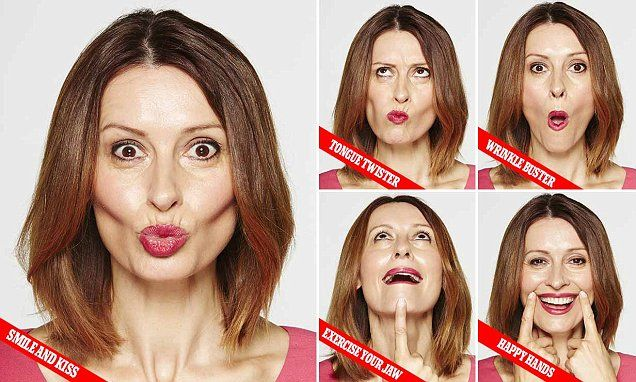Get the lips of a woman half your age with simple mouth exercises