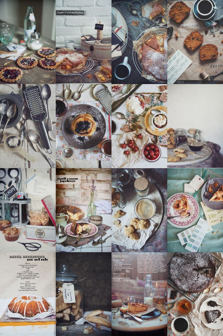 Photography Inspiration: so many fantastic food photos by Paulina Kolondra, love the styling, composition and colors, great inspiration!