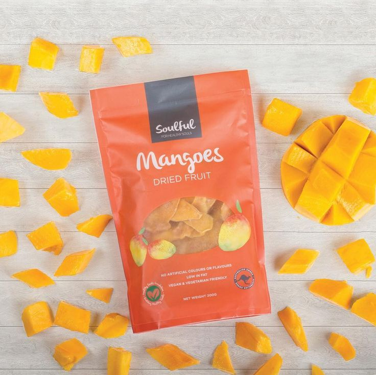 The taste of summer. With every mango piece, you'll be brought back to those soul warming memories. #Soulful #mango #driedfruit #driedmango