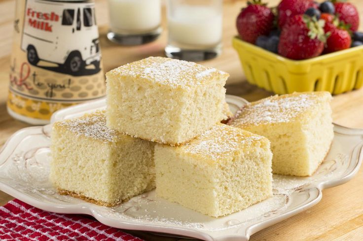 Old-Fashioned Hot Milk Cake  http://www.mrfood.com/Cakes/Old-Fashioned-Hot-Milk-Cake