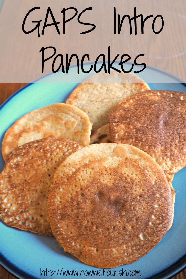 GAPS Intro Pancake Recipe  - Grain-free, nourishing, and delicious with a secret ingredient! Dairy and coconut free, too!