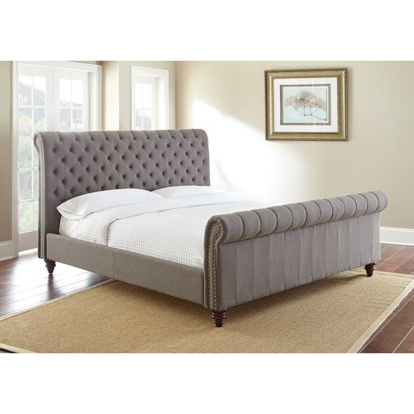 Karsten Upholstered Low Profile Sleigh Bed Upholstered Sleigh Bed Upholstered Panel Bed Upholstered Beds